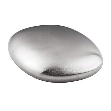 BESTONZON - Jabón de acero inoxidable para eliminar olores y ...