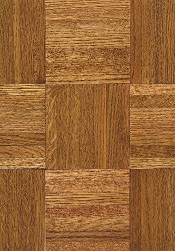 Armstrong 111140 Urethane Parquet Wood Backing Natural & Better Solid Oak Hardwood Flooring, Honey