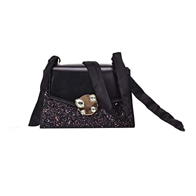 Women Sequin Handbag Shoulder Bags Tote Purse Messenger Satchel Bag Cross Body