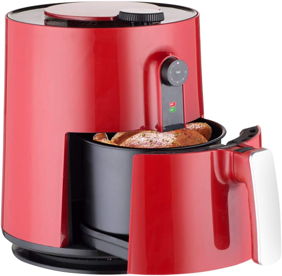 Freidora de aire de gran capacidad sin aceite Home Smart máquina automática de papas fritas freidora eléctrica de ala asada: Amazon.es: Hogar