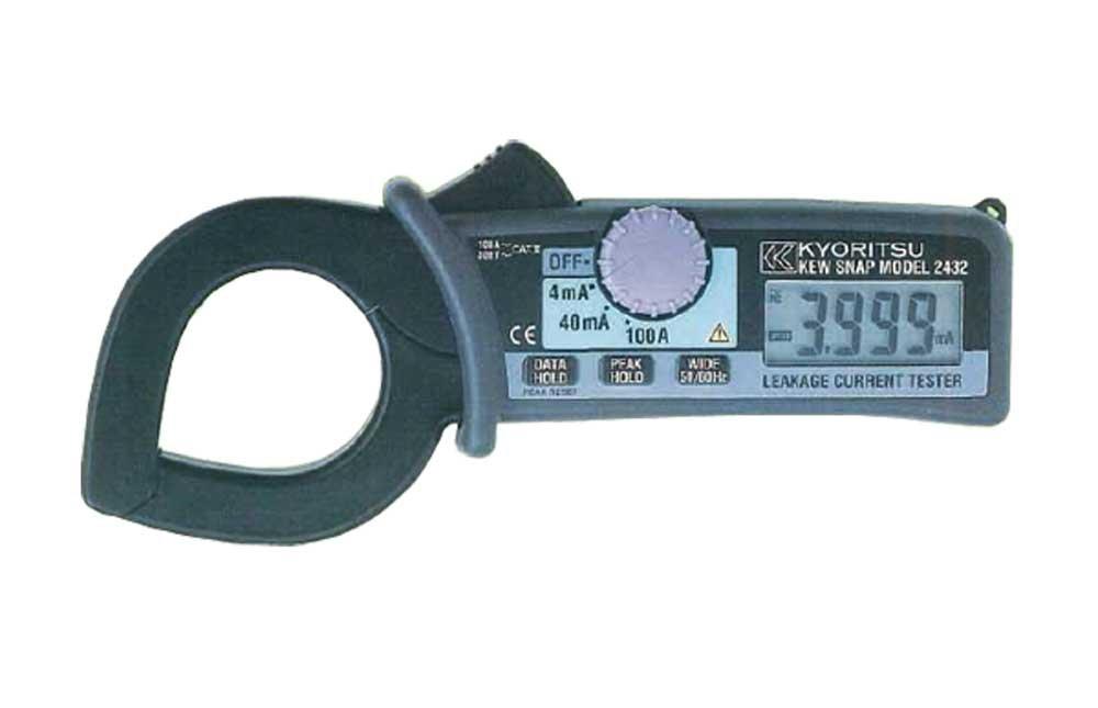 激安通販 共立電気計器 (KYORITSU) 共立電気計器 2432 キュースナップ漏れ電流負荷電流測定用クランプメータ B00D763Z06 2432 B00D763Z06, インテリアのゲキカグ:35d7f033 --- a0267596.xsph.ru