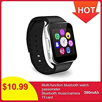 UNIQUS GT08 Smart Watch Men SIM Card Support TF Voice Recorder ...