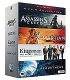 UHD 4 Film Collection [Assassin's Creed, The Martian, Kingsman & Prometheus] [4K UHD]