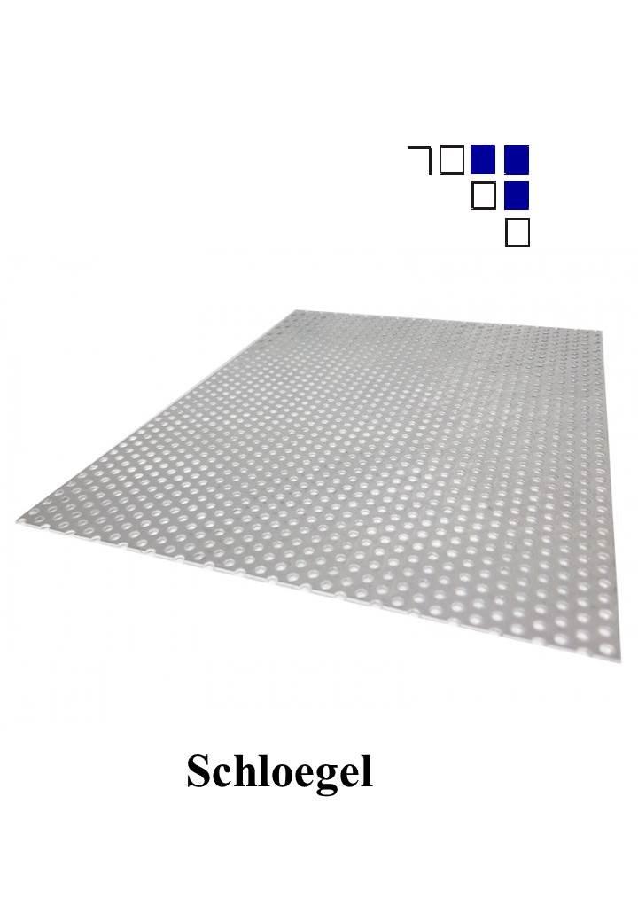 25x1000 1mm Aluminium Lochblech Rv3-5 L/änge 1000mm
