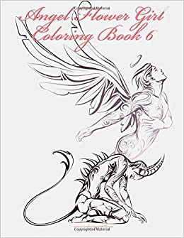 Amazon.com: Angel Flower Girl Coloring Book 6 (Volume 6 ...