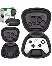 Sisma Game Controller Holder Case for Official Xbox One X or One S Wireless Controller, Heavy Duty Protective Cover Hard Shell Pouch Fit -Black