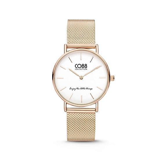 CO88 Collection 8CW 10078 Reloj de Mujer - Malla milanesa - Ø 32 mm - Oro