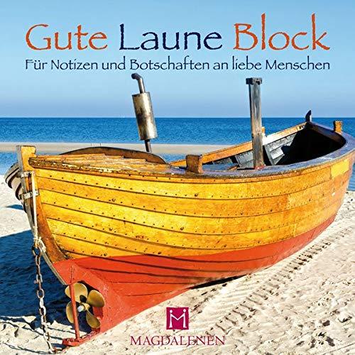 Gute Laune Block Boot: Für Notizen und Botschaften an liebe Menschen