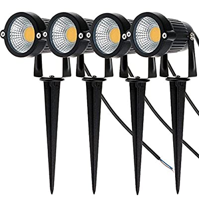 Familite Outdoor IP65 Waterproof Decorative Spotlight-6W COB LED Landscape Garden Wall Yard Path Light