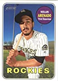 2018 Topps Heritage #351 Nolan Arenado Colorado Rockies Baseball Card