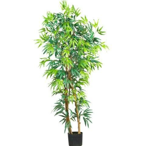 Nearly Natural 5 Ft Fancy Style Bamboo Silk Tree