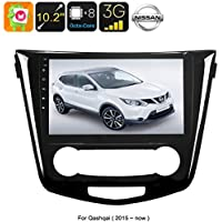 Generic One DIN Android Media Player - For Nissan Qashqai, 10. 2 Inch, Android 6. 0, WiFi, 3G Support, GPS, Octa-Core, 2GB RAM, GPS