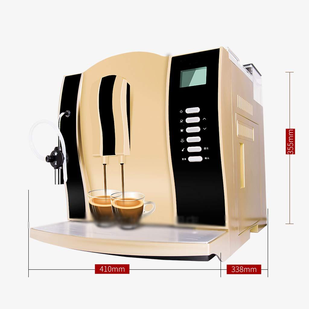 LJHA kafeiji Cafetera Italiana, cafetera Completamente automática ...