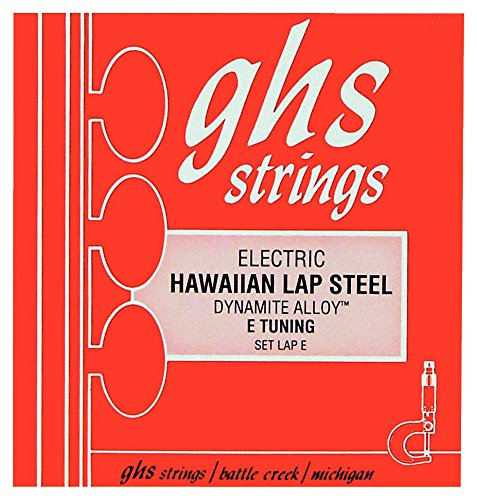 GHS Lap-E Nickel Plated Steel Electric Hawaiian Lap Steel E Tuning Strings