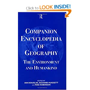 Companion Encyclopedia of Geography: The Environment and Humankind