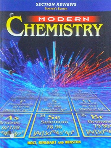 Modern Chemistry Classroom ~ Modern chemistry section reviews teacher s edition