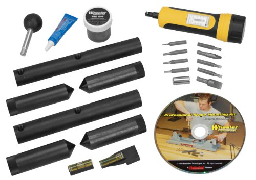 Wheeler Scope Mounting Kit Combo (1-Inch, 30mm), Outdoor Stuffs