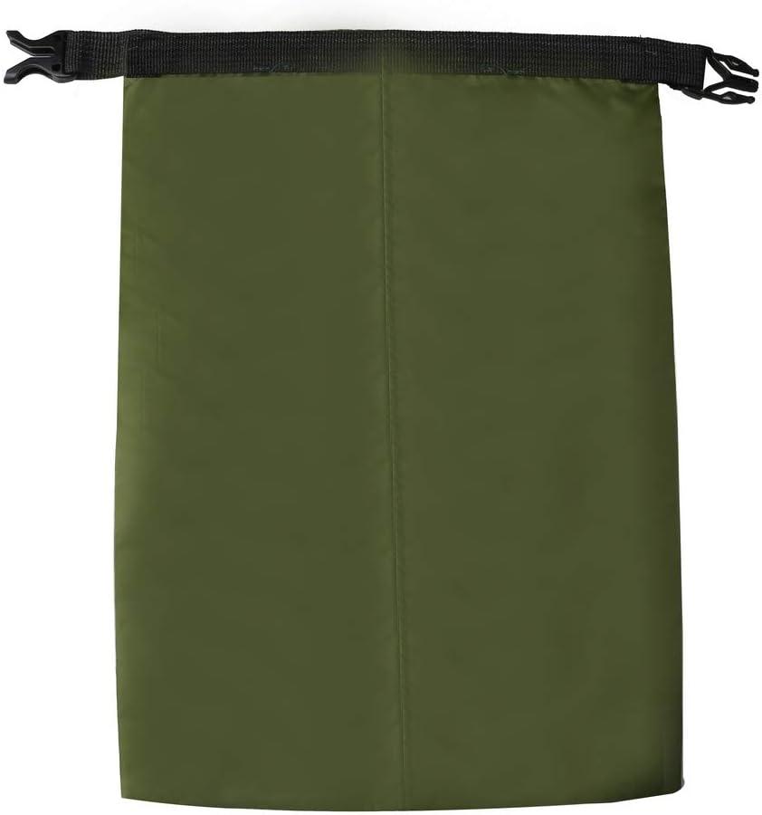 Fantye 5 Pack Black Waterproof Dry Sacks 1.5L, 2.5L, 3.5L, 4.5L, 6L Lightweight Outdoor Dry Bags Ultimate Dry Bags for Rafting Boating Camping