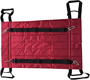 XRX Transfer Boards Belt Slide Sheet with Handles for Patient Transfers, Turning, and Repositioning in Beds,Hospitals and Home Care,Assist Moving Elderly and Disabled