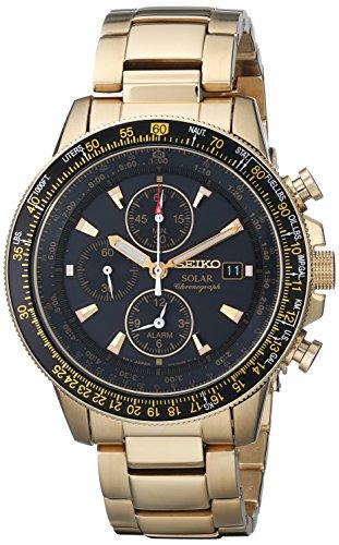 Seiko Men's SSC008 Alarm Chronograph Watch