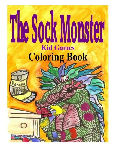 The Sock Monster Coloring Book ebook