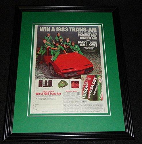hall-oates-1983-canada-dry-trans-am-framed-11x14-original-advertisem