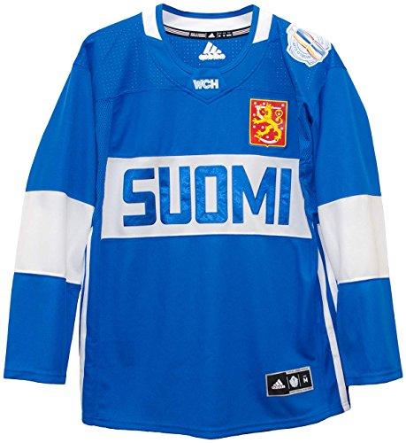 Finland World Cup of Hockey 2016 Adidas Men's Premier Jersey