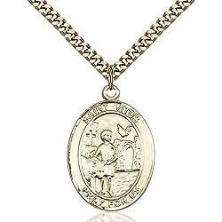 Gold Filled St. Vitus Pendant