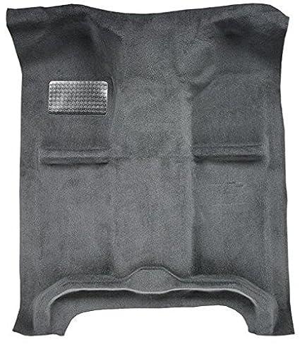 2003 to 2008 Dodge Ram Crew Cab Pickup Truck Carpet Custom Molded Replacement Kit, Quad Cab (801-Black Plush Cut Pile) ACC