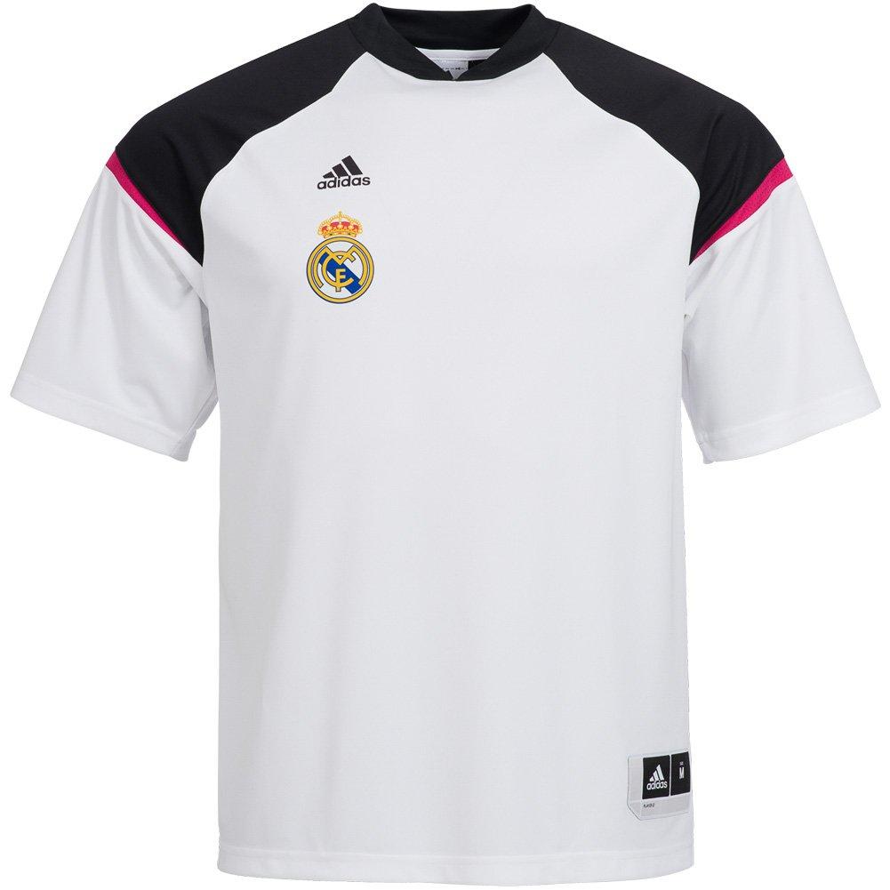 adidas Camiseta Real Madrid Basket Entreno 2015: Amazon.es ...