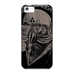 Shock Absorption Cell-phone Hard Covers For Iphone 5c With Allow Personal Design Vivid Megadeth Band Skin EricHowe
