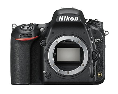NIKON D750 FX-Series Digital Body 24.3MP SLR Camera Body only (Black)