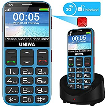 Mosthink Unlocked Cell Phones for Seniors, Compatible AT&T Cell Phone for  Elderly, Basic Phone for Seniors, SOS Senior Phone Big Button Big Volume,