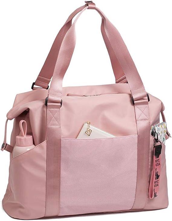 Short-Distance Bag Multi-Function Sports Bag WANGXIAOLINYUNDONGBAO Travel Bag Gray 2 Sizes Fitness Bag Portable