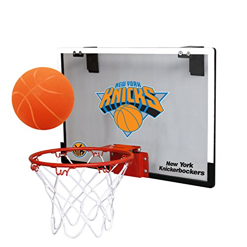 Rawlings NBA Juego en Interior & Ball Set Canasta de Baloncesto, Azul