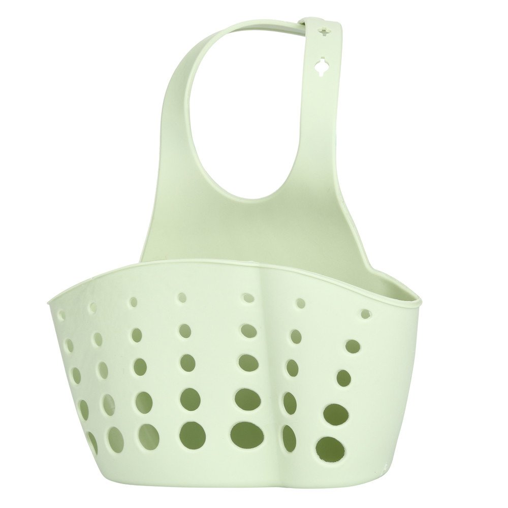 Sponge Holder Rack, Elevin(TM) Portable Home Kitchen Hanging Bag Basket Bath Storage Tools Sink Holder Rack (Green) by Elevin(TM) _ Home Decor & Kitchen (Image #3)