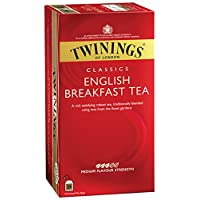 Twinings English Breakfast Tea, 25 Tea Bags