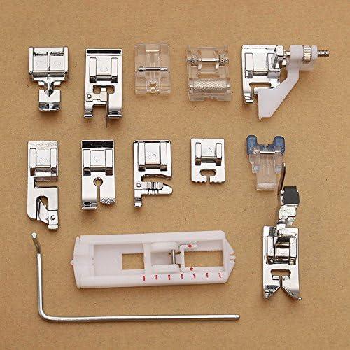Kit 13 x prensatelas pie pies pies para máquinas de coser ...