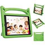 Kindle Fire 7 Case Kids Shock Proof Protective Cover Case for Amazon Fire 7 Display Tablet Cover(2015&2017 Release) (Green)