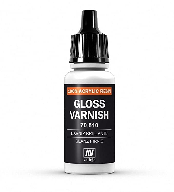 Vallejo P47 Model Color Paint Gloss Varnish Val510 70510