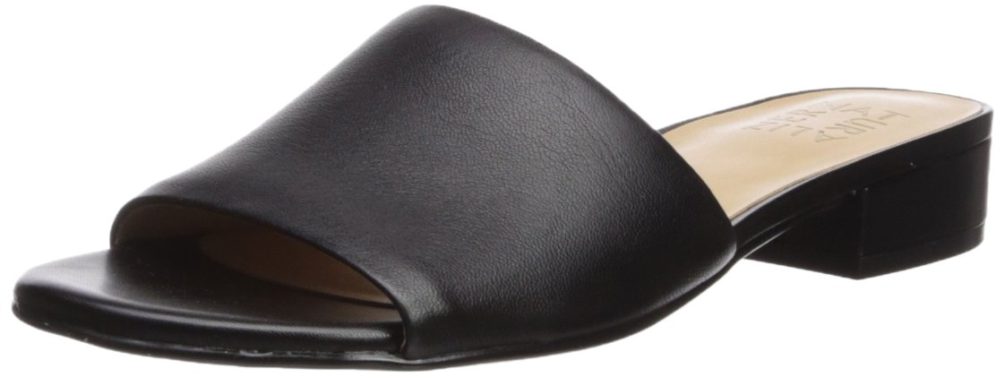 Naturalizer Women's Mason Slide Sandal B073X18H6V 8 B(M) US|Black