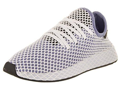 adidas Damen deerupt Runner Originals Laufschuh Chalk Blue / Core Black