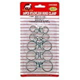 Pitbull CHIC0382S Stainless Hose Clamps, 10-Piece