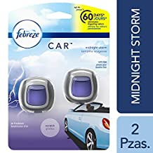 Febreze Febreze Car Vents Clips Midnight Storm Air Freshener 2 Count - Packaging May Vary