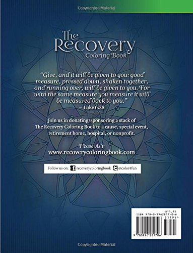 Amazon The Recovery Coloring Book With Messages Of Faith Hope Healing 9780996281706 Tom Castelloe Arody Victoria Books