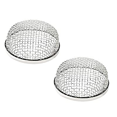 HOMEE 2Pack Flying Insect Screen RV Accessories, Use for Furnace Vents on Travel Trailers, Motorhomes, and Camper Trailers Prevents RV Vent Damage: Automotive