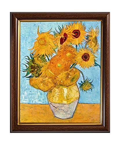Sunflowers Reproduction - Cross Stitch Pattern Van Gogh Reproduction Twelve Sunflowers Painting Cross Stitch Counted Chart PDF on CD Unique Easy to Make Vintage English