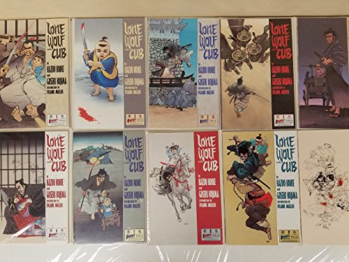 Lonewolf and Cub #1-45 Full Set Run Very Fine or Better 1987 First Comics