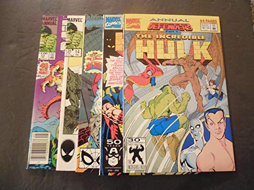 5 Iss Incredible Hulk Annuals #13-18 1984-1992 Copper/Modern Age Marvel Comics