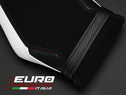 BMW S1000RR 2015-2017 Luimoto Motorsports Suede Seat Cover Set Front & Rear + Gel Pad by Luimoto (Image #5)